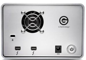 G-Technology GDock EV Back