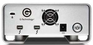 G-Technology GDrive Pro Back