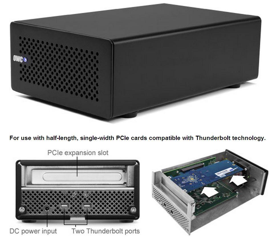 OWC Helios Thunderbolt PCI-e Chassis