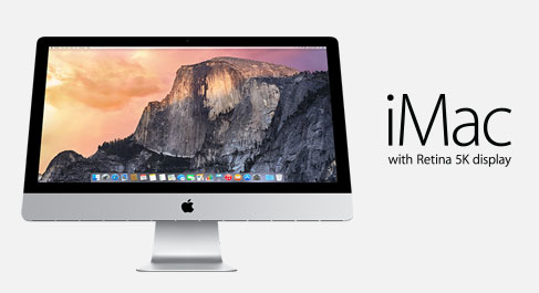 "Apple iMac 27"" 5K Screen Late 2014"