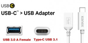 Kanex KU3CA107I USB3C-USB3FemaleA